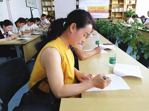 北京大区参赛选手正在考试