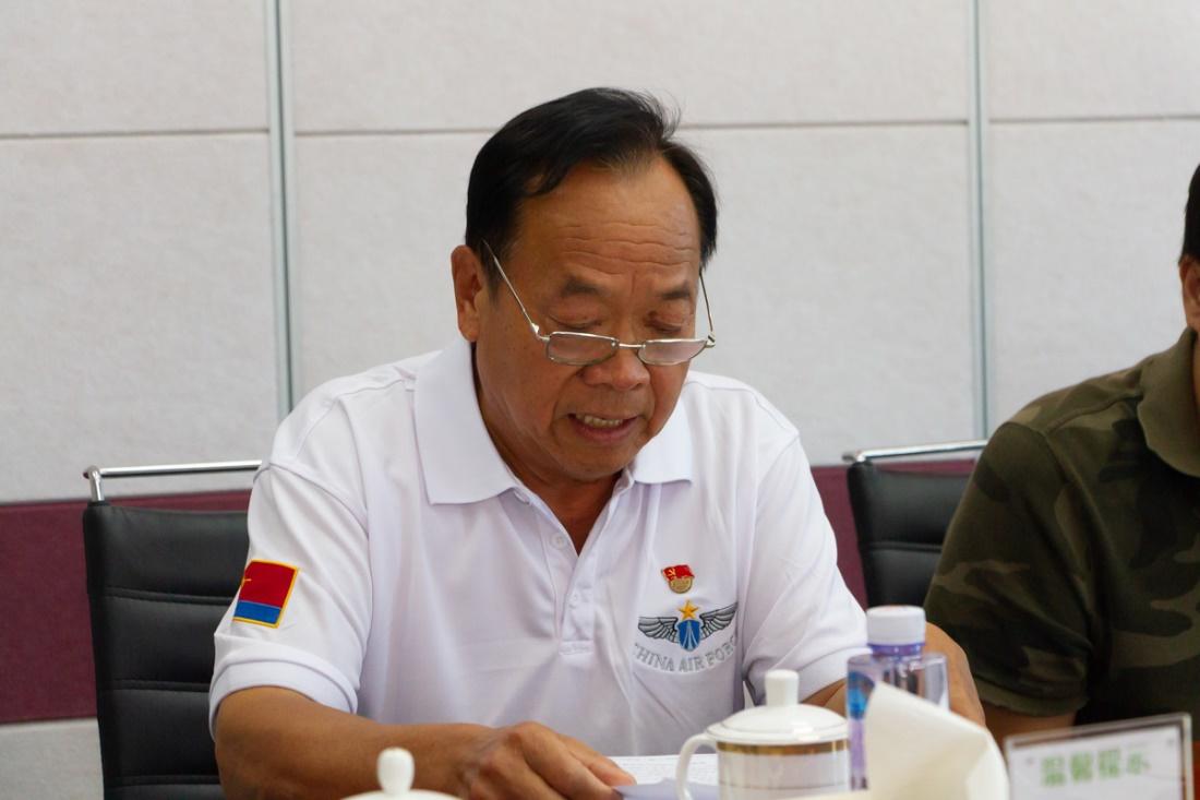 中国农大创业园联合党支部书记李国安同志讲话